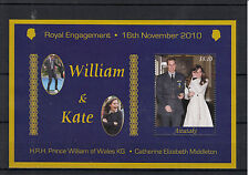 Aitutaki Cook Islands 2011 MNH Royal Engagement 1v Special S/S William Kate