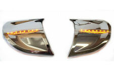 Headlight Trim Kit w/ Amber LEDs for GL1800 Goldwing 2006 & Later (45-1299ALED)