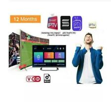 New listing Ip * tv 12 month subscription ( ✔m3u ✔smart tv ✔android ✔mag)