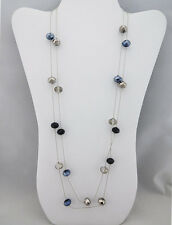 INC International Concepts Jet Bead Long Necklace Msrp $36.50 *NEW WITH TAG*