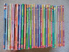 RON ROY LOT 33~A to Z Mysteries~CALENDAR~Capital~SUPER EDITIONS~Orange Outlaw~