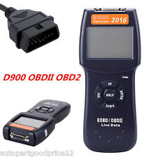 2016 Universal D900 OBD2 EOBD CAN Car Fault Code Reader Diagnostic Scanner Tool