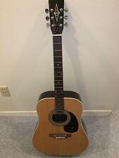 Vintage Alvarez 5023 Acoustic Guitar 1970's Made In Japan Excellent Condition