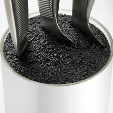 Universal Kitchen Knife Block Safe Storage Stand Organiser Fibre Pot Cutlery New