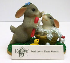 "Charming Tails, Fitz And Floyd,""Wash Away Those Worries"" Item 89/111"