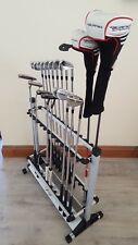 24 GOLF CLUBS DISPLAY STAND FOR TAYLORMADE TP MB PING TITLEIST MIZUNO CALLAWAY