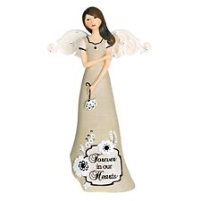 Pavilion Gift Company Sympathy Angel Figurine, 7-1/2-Inch Forever in our Hearts