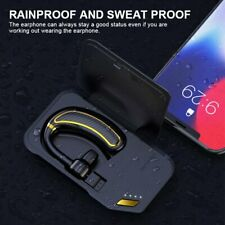 Wireless Bluetooth Noise Cancelling Trucker Headset Earpiece For Driving Office