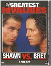 WWE's Greatest Rivalries: Shawn Michaels vs. Bret Hart (DVD, 2011, 3-Disc Set)