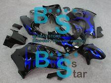 Blue pattern Fairing Fit SUZUKI GSX-R600 GSX-R750 SRAD 97 98 1996-1999 025 QQ