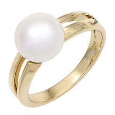Perlen Echtschmuck aus Gelbgold für Damen