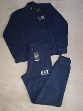 Brand New Emporio Armani EA7 Tracksuit With Tags Navy Blue Colour in 5 Sizes