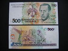 BRAZIL  500 Cruzeiros 1990  (P230a)  UNC