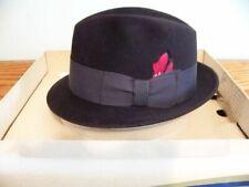 Vintage Euc mens derby fedora Champ hat felt box tags gentlemen's Sunday best