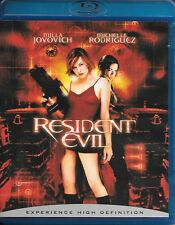 The Resident Evil (3-Movie Blu-ray Lot) Resident Evil, Afterlife & Apocalypse