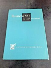 More details for runnymede rubber flooring (london ) salesman sample book .1950s ?