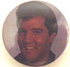 Elvis Presley Old Vintage 1980`S Película Botón Pin Chapa 25mm Rock N Roll King
