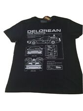Back To The Future Delorean T-shirt - Brand New With Tags Size Large