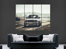 BMW E30 M3 POSTER RALLY CAR ART WALL LARGE IMAGE GIANT HUGE