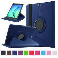 """Leather 360 Rotating Slim Case Cover For Samsung Galaxy Tab A 10.1"""" SM-T580 US"""