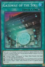 YUGIOH HOLO CARD GATEWAY OF THE SIX SPWA-EN014 1ST EDITION