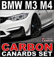 BMW M3 M4 Carbon Front Bumper Canards Set F80 F82 Canard Flaps Winglets