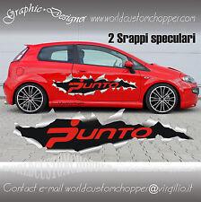 GRAFICA STRAPPO DECAL FIAT GRANDE PUNTO PORTIERE AUTO TUNING RACING SPORT