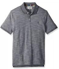 Original Penguin Striped Dark Sapphire Blue 'Playera' Polo Shirt. Size M. BNWT!