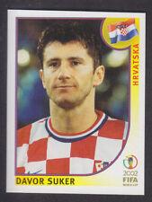PANINI-COREA GIAPPONE 2002 WORLD CUP - # 489 DAVOR SUKER-HRVATSKA