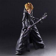 Kingdom Hearts II Roxas Play Arts Kai Organization XIII PVC Figure New In Box