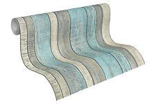 "31993-2) edle Vliestapete ""Wood & Stone"" Holz-Design Tapete Vintage Shabby-Look"