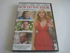 DVD HOW DO YOU KNOW***REESE WITHERSPOON & OWEN WILSON***
