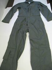 New USAF FLIGHT SUIT  NOMEX Size 34 REGULAR