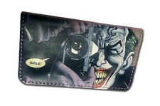 Tobacco Case Pouch Synthetic Leather Wallet Bag Rolling Smoke Joker Photo