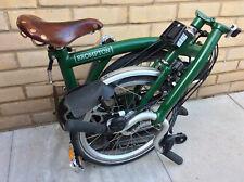 Brompton H6R Racing Green 6 Speed Folding Bike Worldwide Shipping