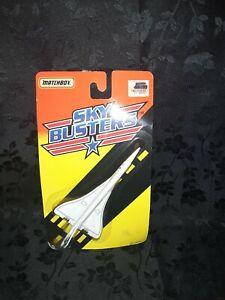 """""""VINTAGE"""" NIB Matchbox Sky Busters BRITISH AIRWAY SST 1994. NO. 8462"""