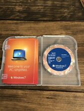 Microsoft Windows 7 Professional UPGRADE 32 bit and 64 bit DVD with Key