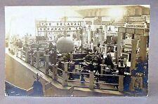 1909 DE LAVAL CREAM SEPARATOR Real Photo RPPC advertising postcard *