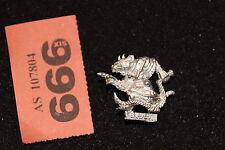 Games Workshop Warhammer Skaven Clan Moulder Packmaster Mint Rats Metal OOP B2