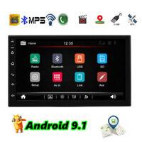 Android 9.1 Double Din Car Stereo 7 Inch Car Radio Head Unit wifi USB OBD DVR