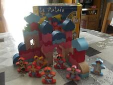JEU DE CONSTRUCTION EN BOIS- JEUJURA - LE PALAIS