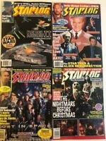 Starlog Science Fiction Magazine 4 issues 197 224 248 250 Sci Fi Star Wars