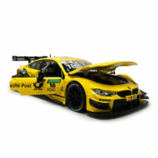 BMW M4 DTM Racing Car 1:24 Model Car Diecast Vehicle Toy Kids Collection Yellow