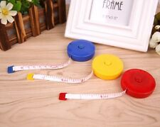 "3x 1.5M 60"" Body Clothes Measure Tape Line Ruler Soft Retractable Sewing Tailor"