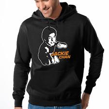 Jackie Chan Kung Fu Karate Fan Konterfei Movie Kapuzenpullover Hoodie Sweater
