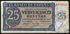 25 Pesetas 1936 Burgos @ Very Beautiful @