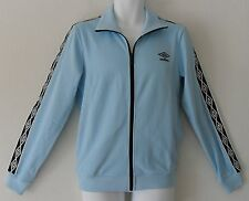 NEW~Umbro 1350 DIAMOND ICONS TAPED Track sweat shirt Jacket soccer Top~Mens sz M