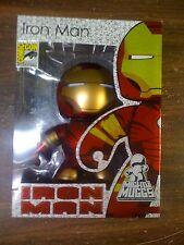Marvel SDCC 2008 EX Mighty Muggs Iron Man I NEW