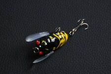 1pcs Cicada Mepps Fishing tackle 4cm/6.5g peche Wobbler Lure Crank baits bass !!