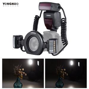Yongnuo YN24EX E-TTL Twin Lite Macro Flash Speedlite w Dual Head for Canon DSLR